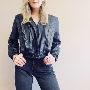 Vintage Valley leather jacket